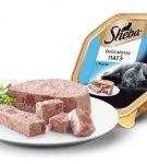 Консервы серии Sheba Delicatesso Патэ с лососем