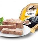 Консервы серии Sheba Delicatesso Пате с мясом птицы