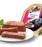 Консервы серии Sheba Delicatesso Патэ из говядины