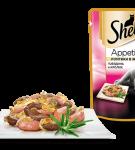 Sheba Appetito Говядина и кролик