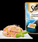 Sheba Appetito Тунец и лосось