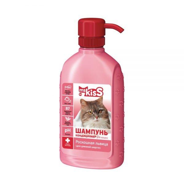 Шампунь для кошек с длинной шерстью