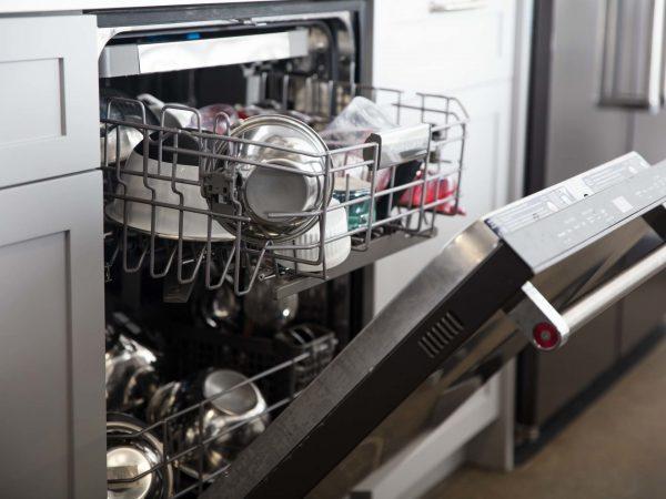 Мытьё стальной посуды