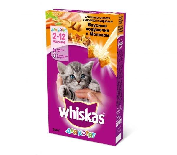 Сухой корм для котят «Вискас»