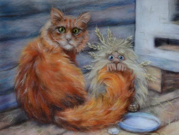 Кот и домовой