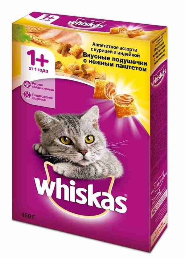 Сухой корм для кошек Whiskas