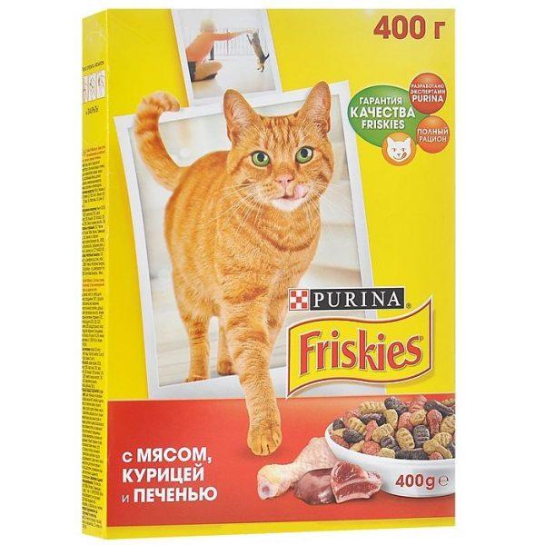 Сухой корм экономкласса Friskies