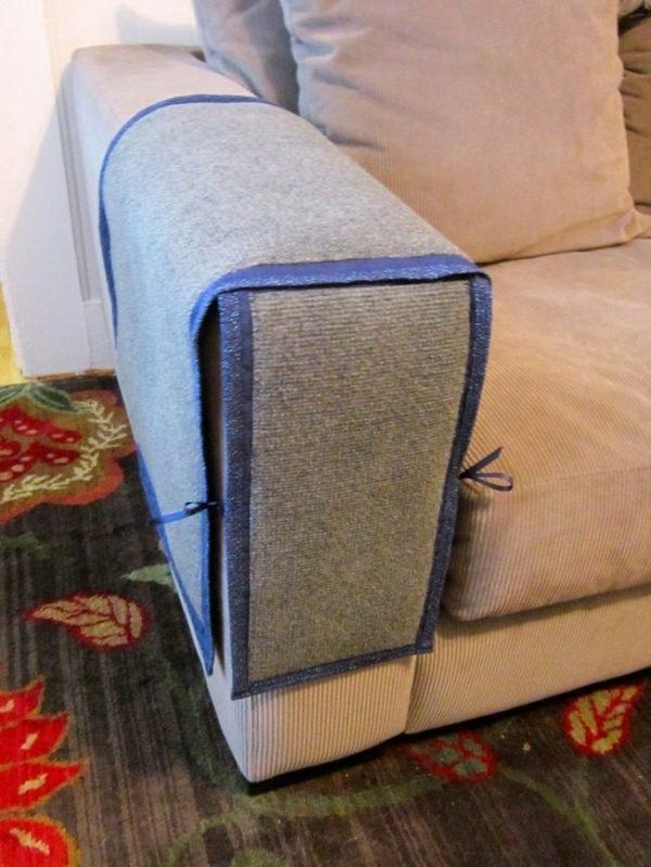 Чехол из защитной ткани на мебель