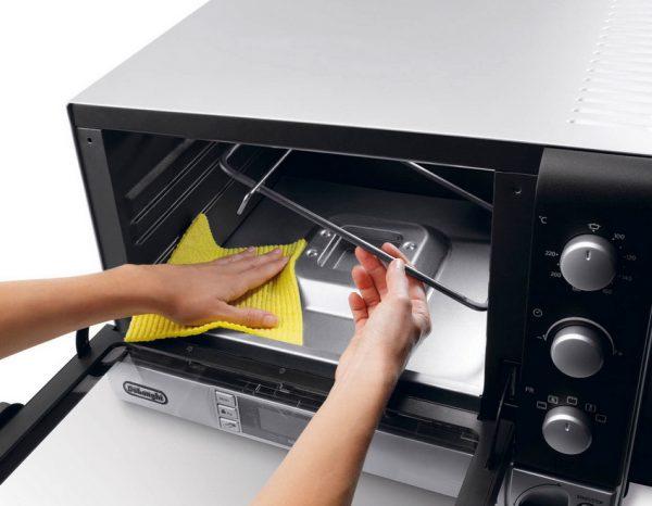 электропечь для кухни уход