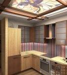 Кухня в китайском стиле с лаконичной мебелью