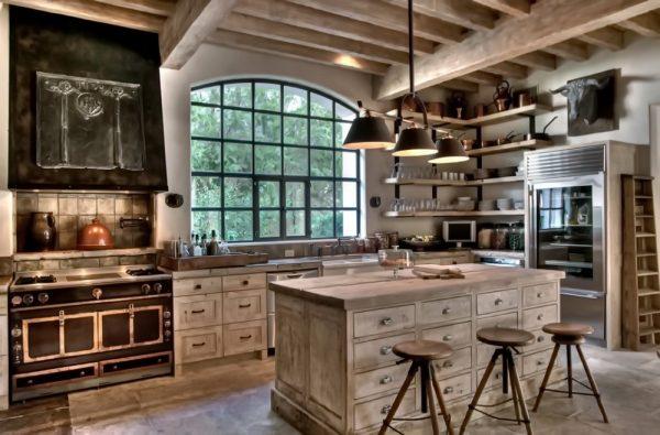 Светильники для шале кухни