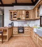 Современная кухня шале
