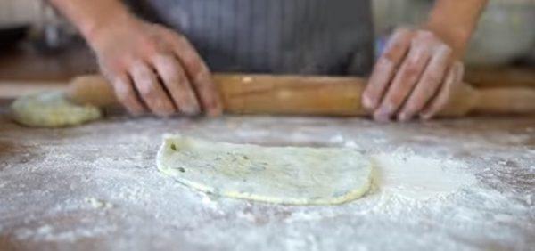 Лепёшки из картофельного теста