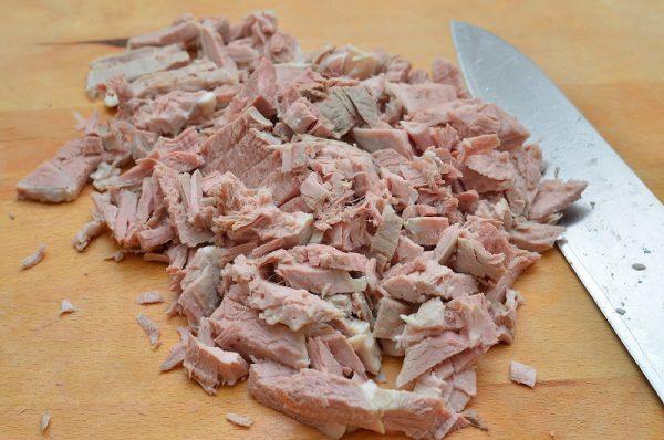 Отварная свинина