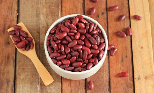 Крупная красная фасоль