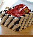 Конфеты в коробке из Лего