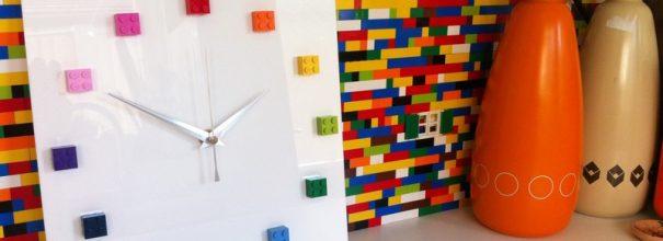 Декор из Лего в дизайне