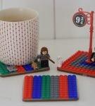 Подставка под горячее из Лего