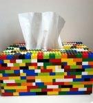 Салфетница из Лего