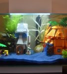 Аквариум из Лего Губка Боб
