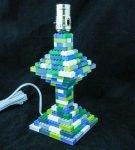 Ножка лампы из конструктора Лего