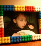 Фотография в рамке из Лего