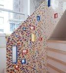 Мебель, декорированная Лего