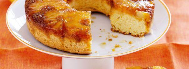 Пирог с консервированными ананасами в духовке - удивительно простое лакомство к чаю или кофе