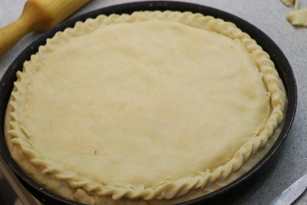 Закрытый пирог в форме