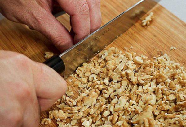 Измельчение орехов