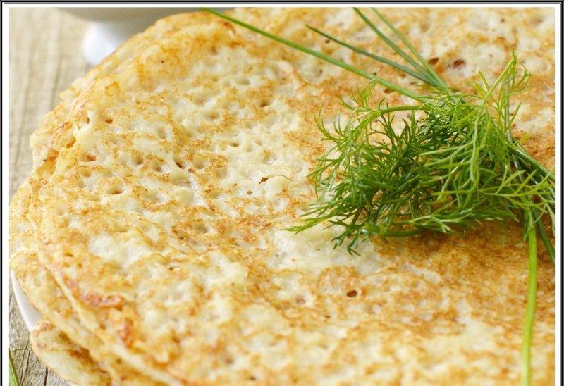 Тонкие картофельные блины рецепт с фото