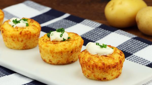 Картофельные маффины