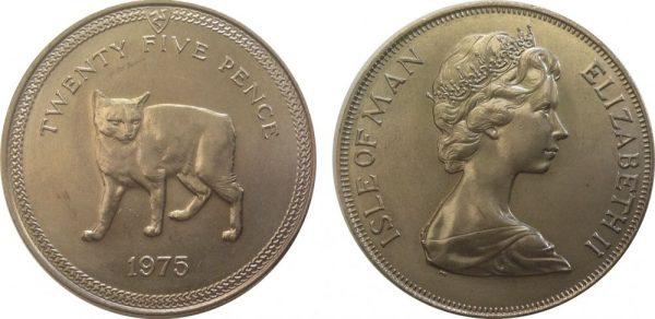 Монета с мэнксом