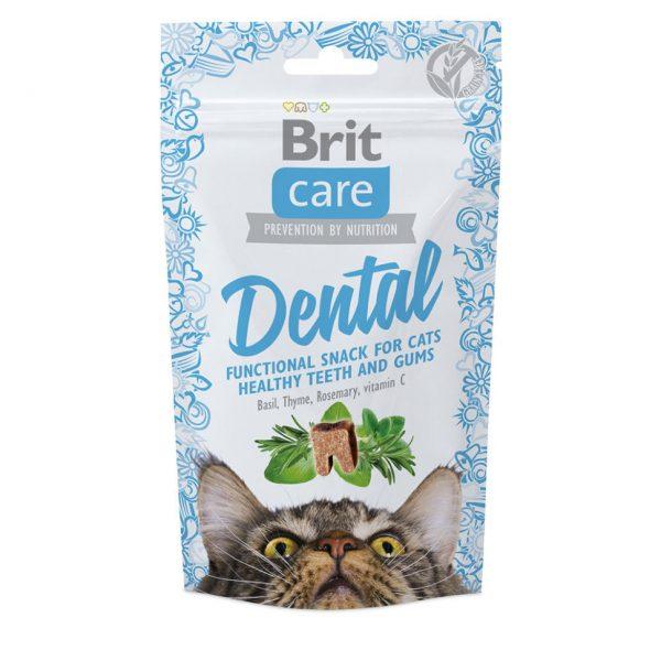 Brit лакомство для кошек для чистки зубов
