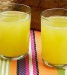 Сок из клубней топинамбура
