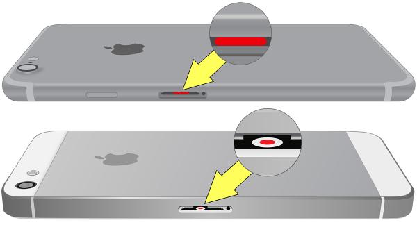 Датчики влажности iPhone