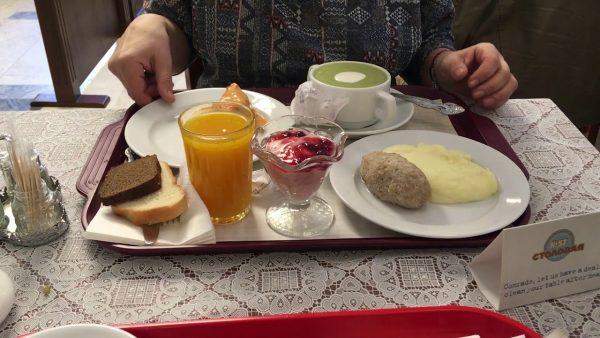 Блюда из современной столовой в советском стиле