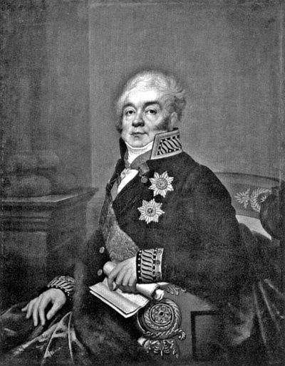 Портрет графа Д.А.Гурьева
