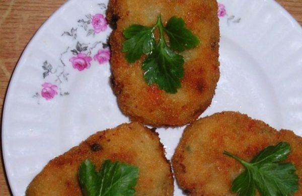 Овощные котлеты по-индийски