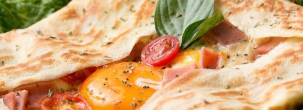 Аппетитная яичница в лаваше - вкусное начало нового дня