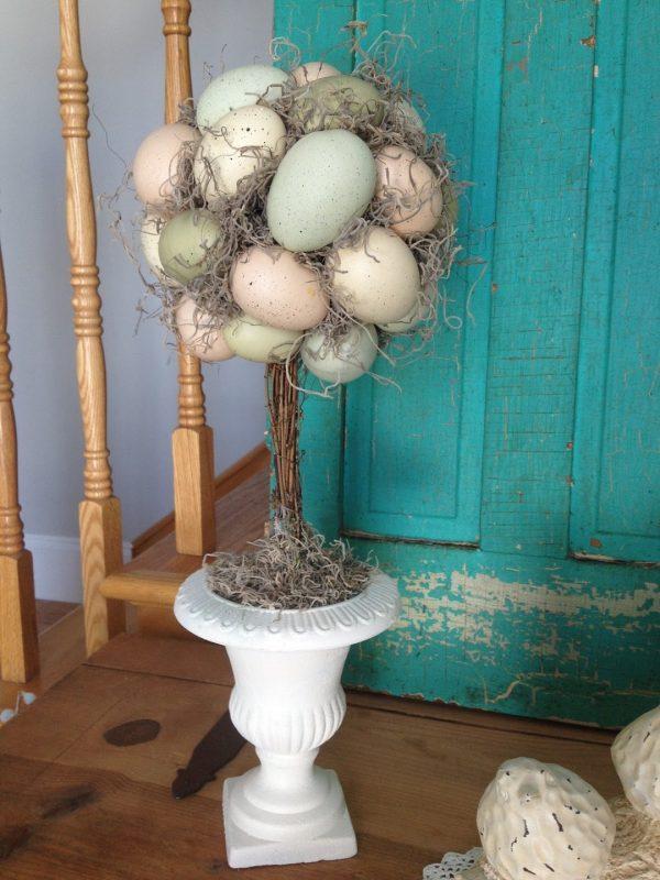 форме яйца