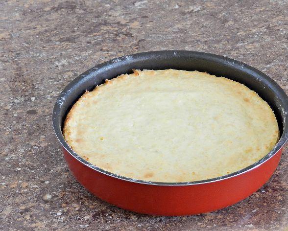 Пшённый крупеник в круглой форме для запекания