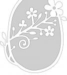 Шаблон пасхального яйца 17