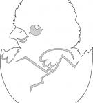 Шаблон пасхального яйца 18