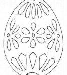 Шаблон пасхального яйца 19