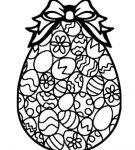 Шаблон пасхального яйца 22