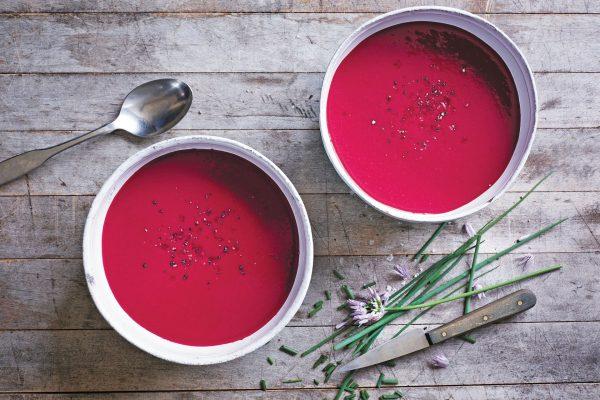 Готовый свекольный крем-суп