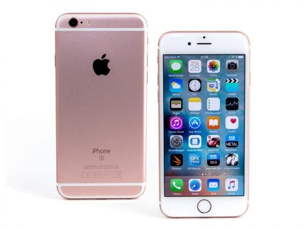 Логотип Apple на Айфоне