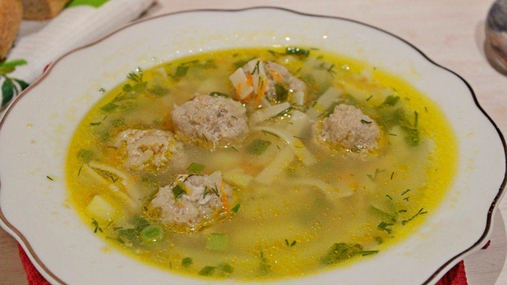 картинки суп лапша с фрикадельками яиц