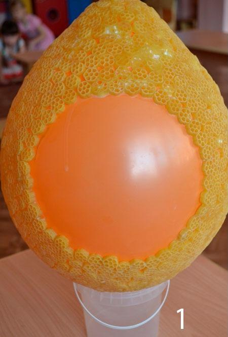 Создание основы яйца
